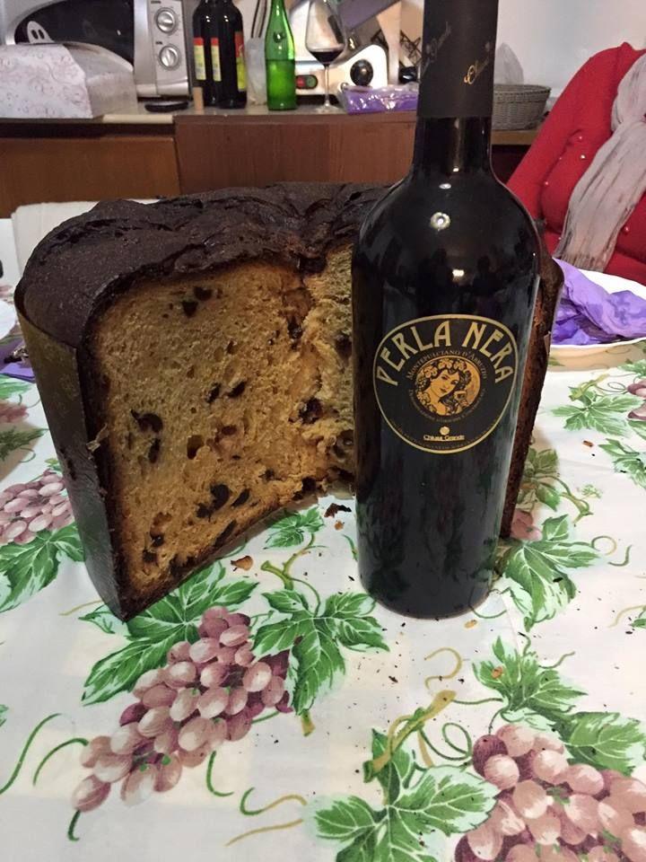 #panettone al vino della pasticceria LaMimosa di Tollo di http://www.simocakedesigner.it