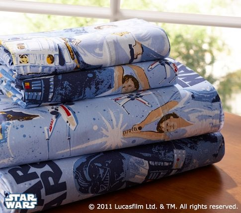 Classic Star Wars Bed Sheets!
