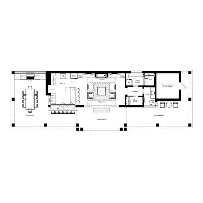 The balsam estate floor plan outdoor living floor plan Outdoor living floor plans