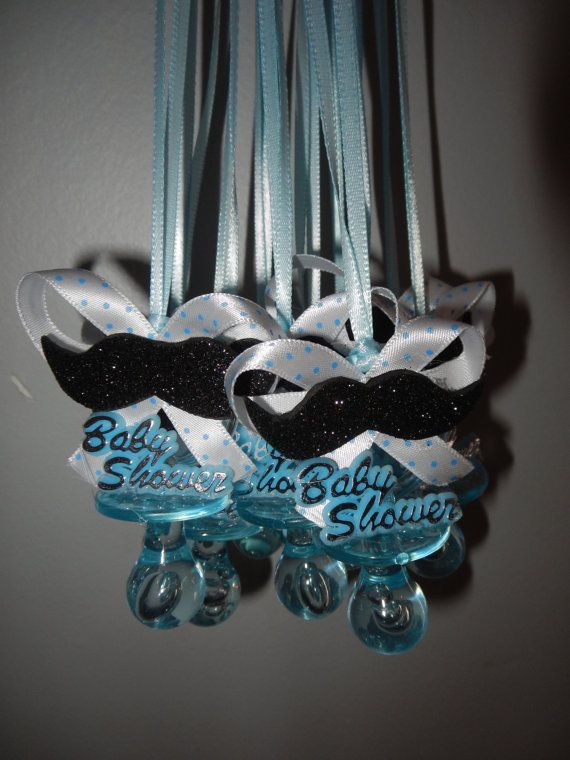 Mustache Baby Shower Favors Baby Boy Shower By GiftsbyLeon On Etsy