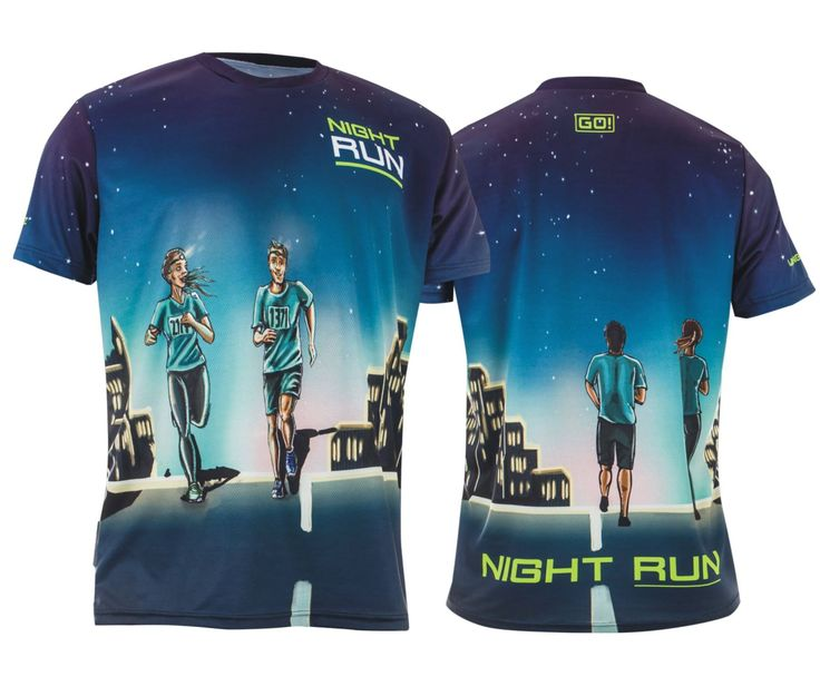 night run dress design