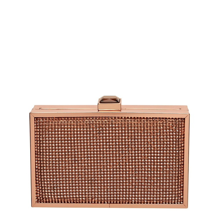 Rose Gold - My Fav right now...STOLEN TREASURE CLUTCH @Amy Collins