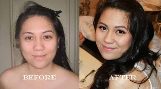 Nelly's Before and After photo! :D