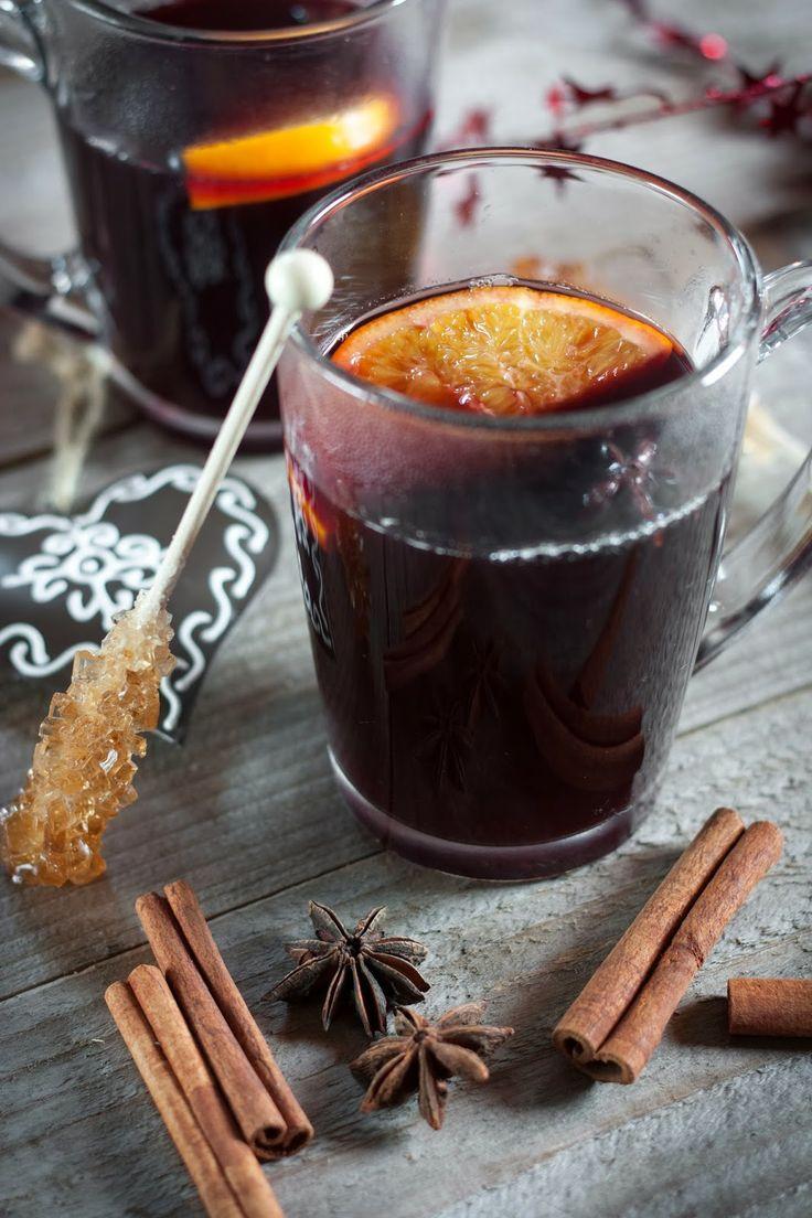 Vin chaud { ou jus de raisin chaud }