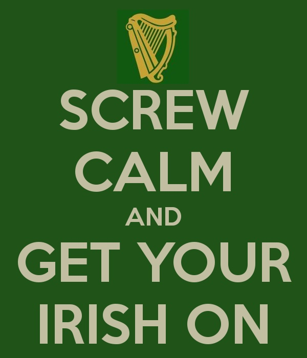"yeah, we Celts aren't really good at the whole ""keep calm"" thing"
