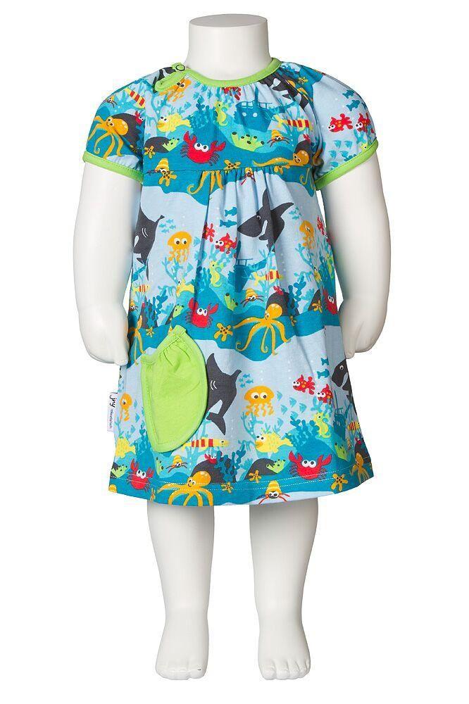 Kleid mit integriertem Body, Unterwasserwelt