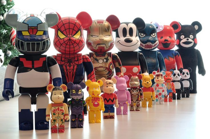 Bearbricks...1000% & 400%