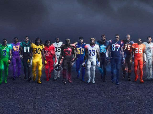 Nike's NFL Color Rush uniforms