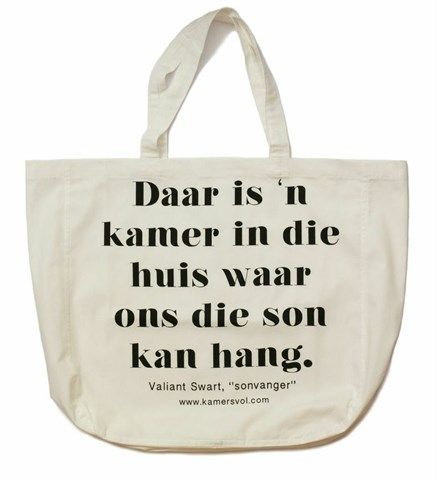 Sonvanger Inspirational Tote Bag - KAMERS