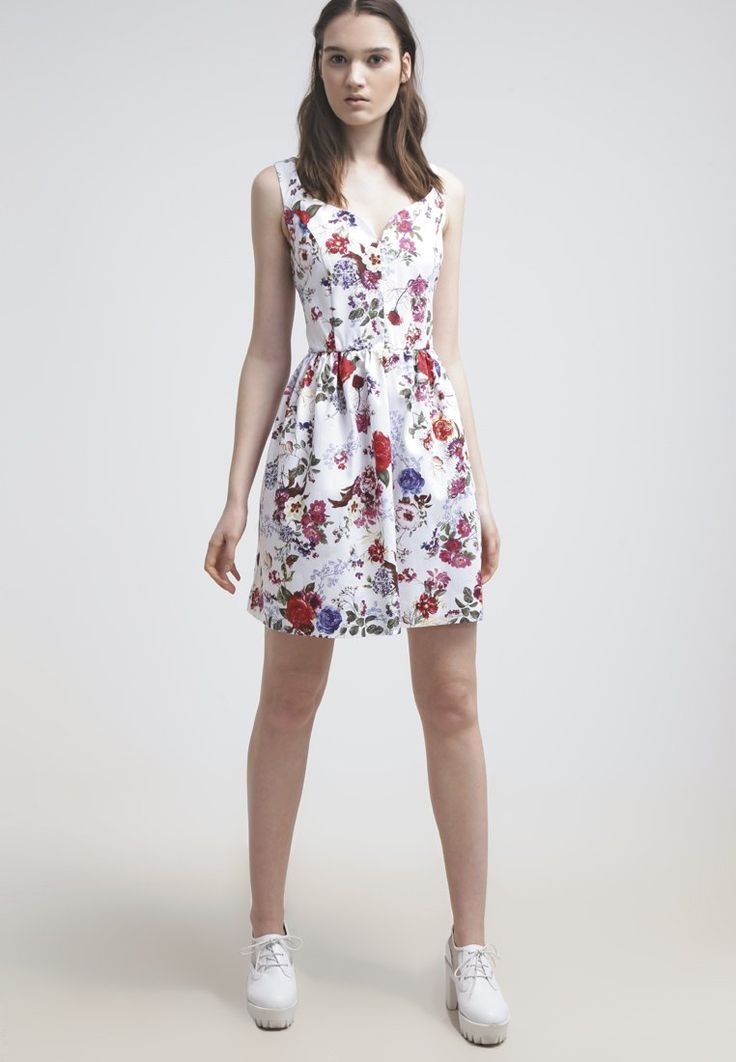 mint&berry Sukienka letnia - white - Zalando.pl
