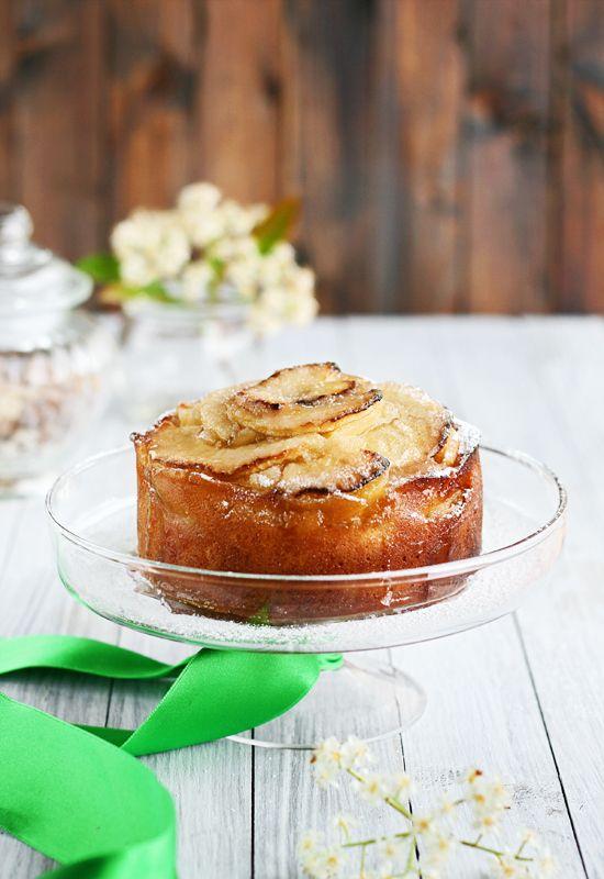 Receta 1013: Tarta de manzanas borracha » 1080 Fotos de cocina - Boozy Apple Cake