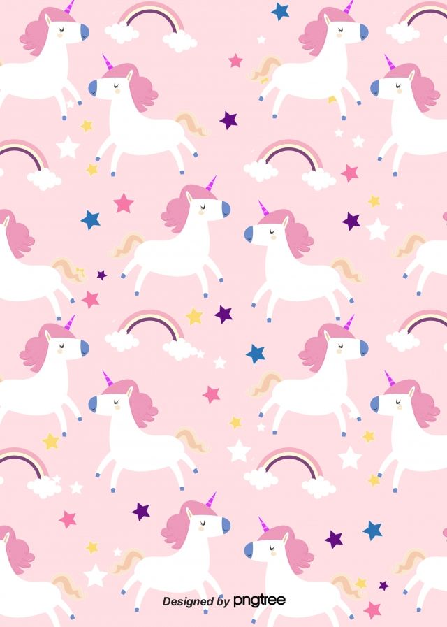 Cartoon Unicorn Rainbow Patterns Background Pink Unicorn Wallpaper Unicorn Wallpaper Cute Unicorn Wallpaper