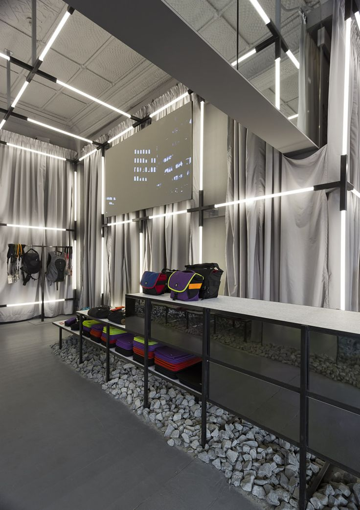 Crumpler Prahran Store, Melbourne, Australia designed by Russell  George Architects