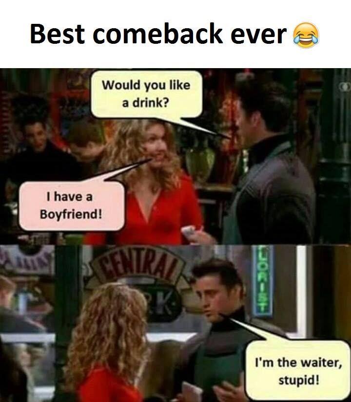 Best Comeback Ever