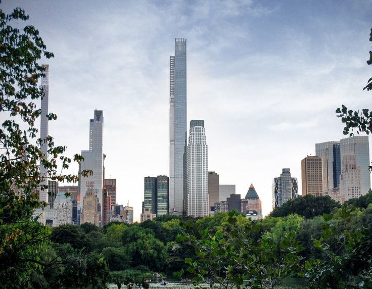 Central Park Tower's Nordstrom flagship gets its fluted facade - Curbed NYclockmenumore-arrow : The massive department store is slowly beginning to take shape