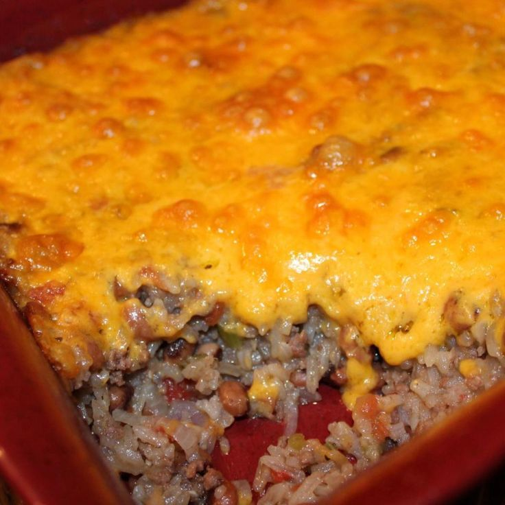 """BLONDIE'S NEW YEAR'S DAY BLACK-EYED PEA CASSEROLE """" I bet someone who does not enjoy black-eyed peas will love this casserole - it's that good. A nice and hearty New Year's Day meal!"""""""