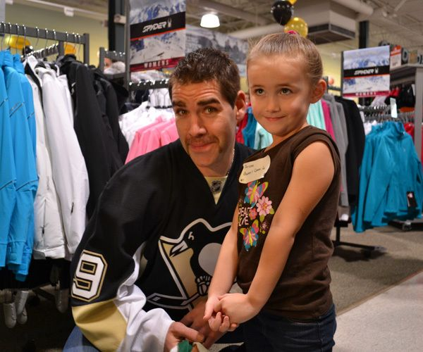 Pascal Dupuis is perfect. If I was to marry any NHLer it would probably be him. He's not my favorite player, though he is up there, but for some reason I love him! =]
