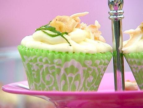 Cupcakes med citron, banan och kokos eller choklad