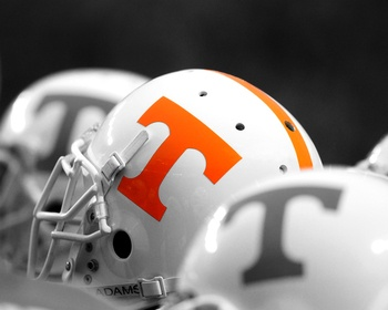 Tennessee Football Helmets Picture at Tennessee Volunteer Photos