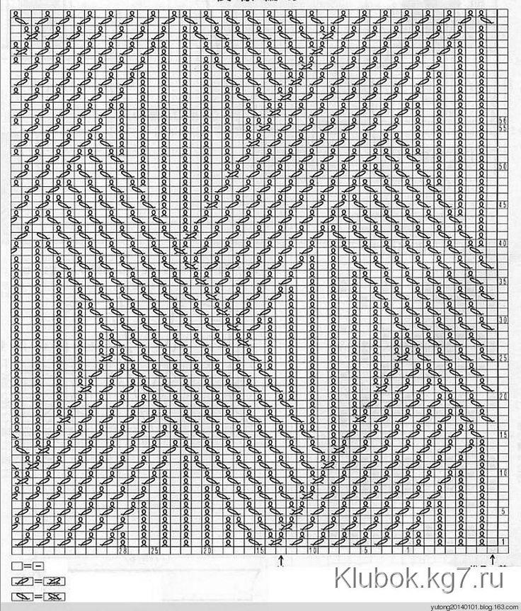 Пуловер структурным УЗОРОМ | Клубок