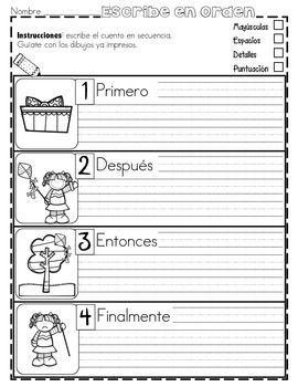 FREE - PRáCTICA DE SECUENCIAS CON DIBUJOS ¡GRATIS! - TeachersPayTeachers.com