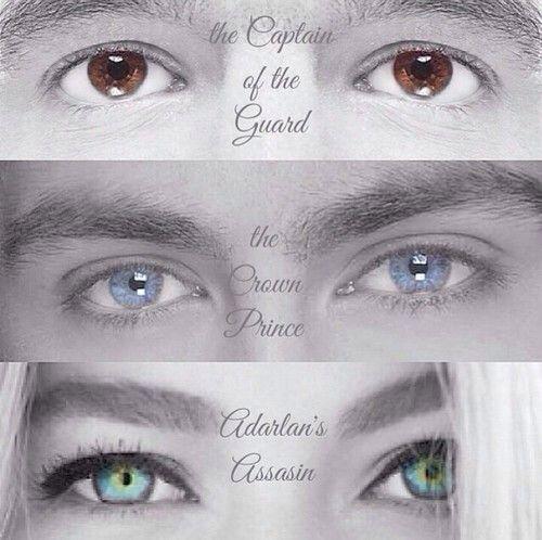 Chaol, Dorian, and Celaena
