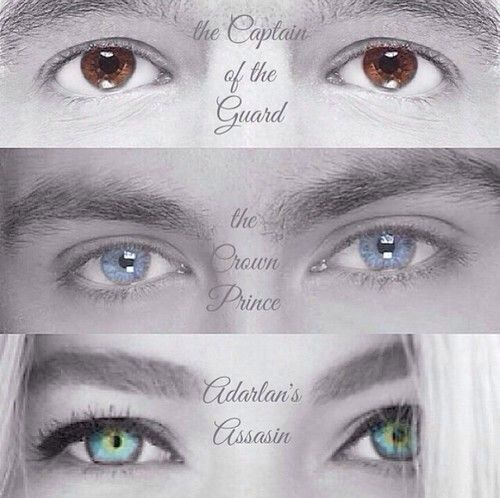 Chaol, Dorian, and Celaena