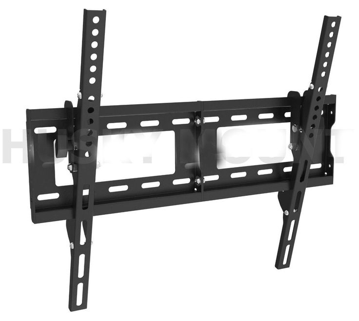"Atlantic Tilting TV Wall Mount For 37"" to 70"" Flat Panel TV's, Black"