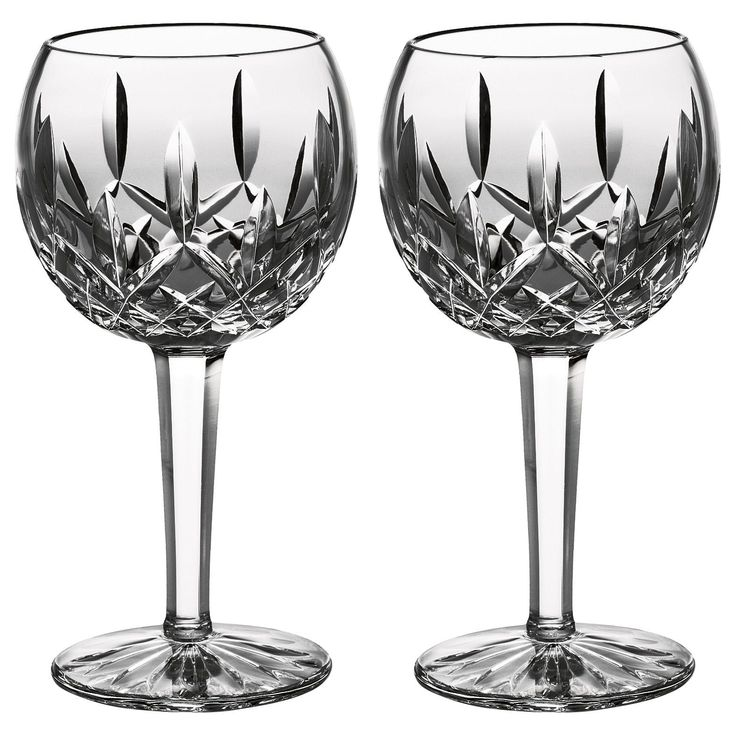 Waterford Classic Lismore Balloon Wine Glasses