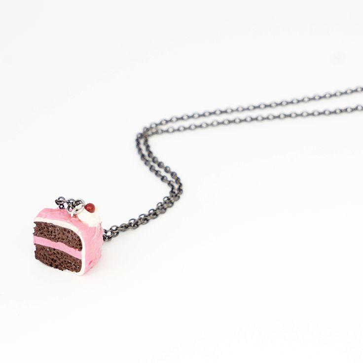 Chocolate Cake Necklace