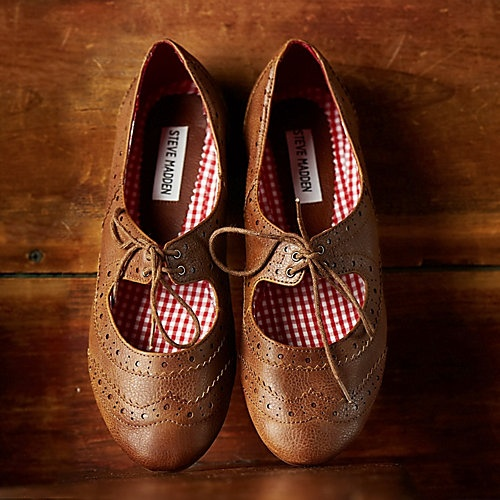 More feminine than your usual Oxfords