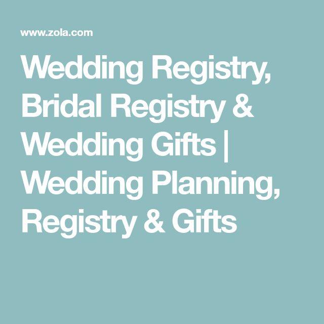 Wedding Registry, Bridal Registry & Wedding Gifts | Wedding Planning, Registry & Gifts