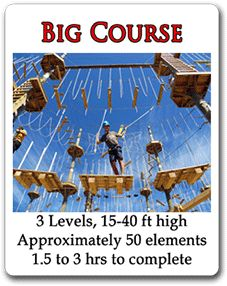 Rise and Climb - High Ropes Adventure Course PEI