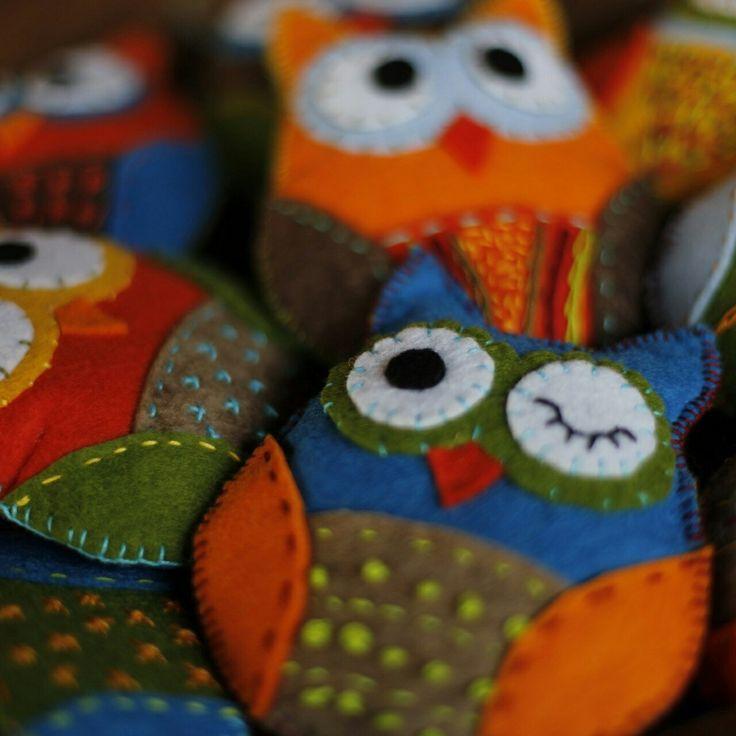 #gufetti #gufi #owl #fattoamano #fattidame #handmade #madeinitaly