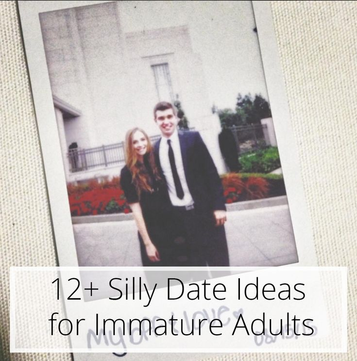 12+ Silly Date Ideas for Immature Adults / Miss Lauren Kyle