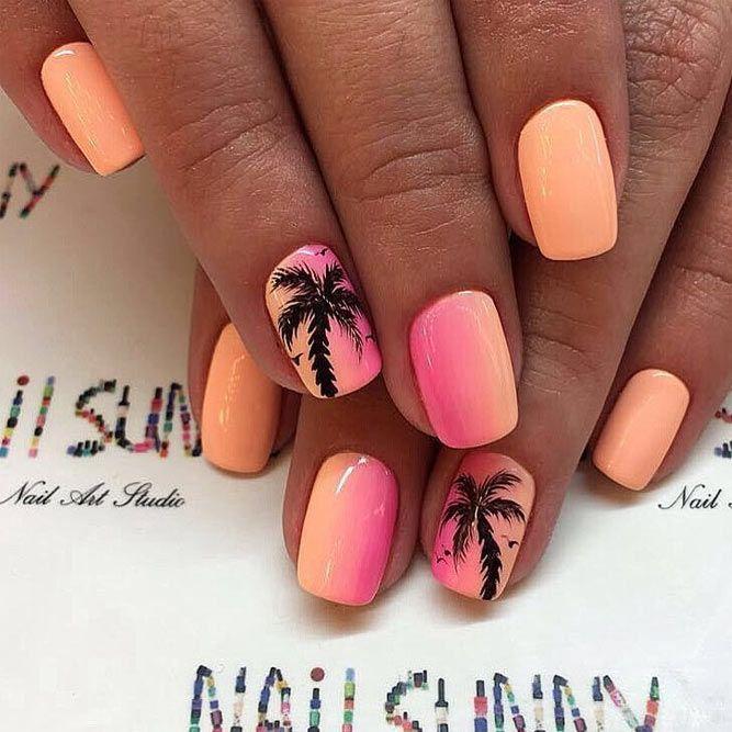 Top 24 Trendy Nail Designs For Short Nails Cute Summer Nail