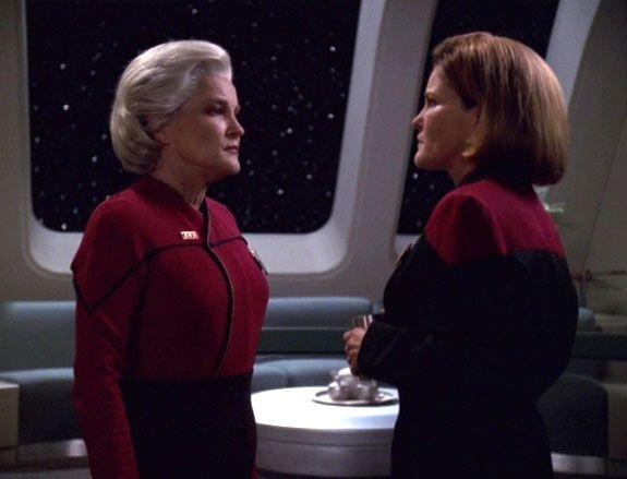 Star Trek Voyager Chakotay And Kim Time Travel