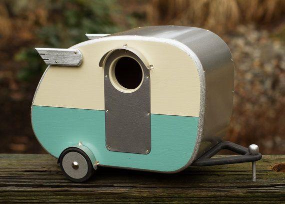 Vintage Camper Birdhouse $60