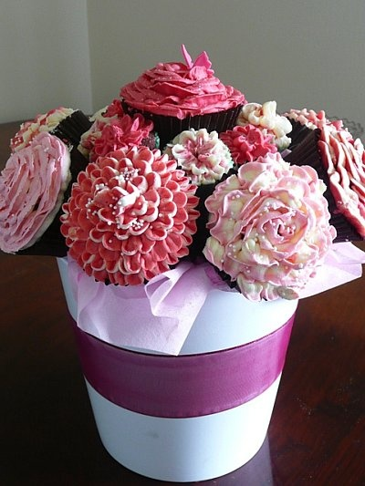 Best images about cupcake centerpiece on pinterest