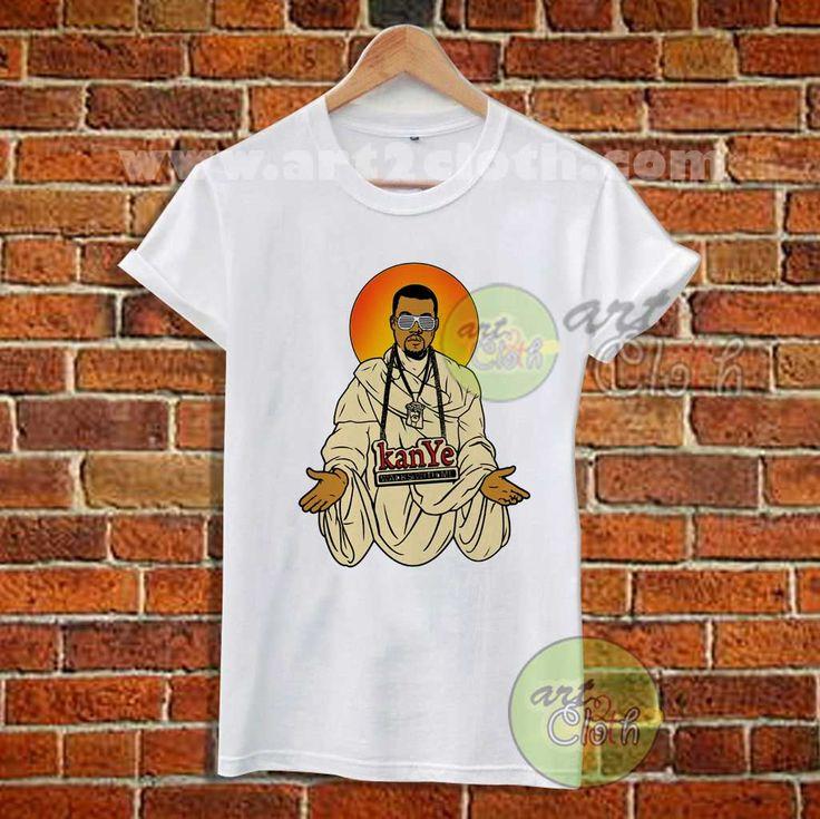 Keny West Yeezus T Shirt //Price: $12 //     #FashionWomens
