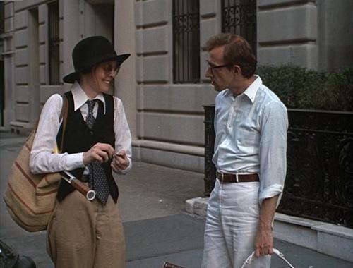 "Iconic fashion moments in film ""annie hall"" Diane Keaton, 1977"