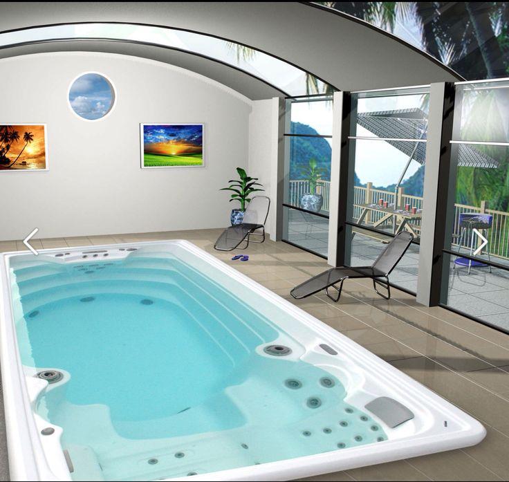 Le Swimspa Amazon Inground, un Swimspa encastrable conçu pour un usage sportif dans les maisons particulières, comme pour les salles de gym, les clubs de sport et les hôtels. Dans ce Swimspa, une vaste zone de natation permet à lutilisateur de nager à contre-courant sans difficulté grâce à ses 5 turbo-jets puissants.  Ce Swimspa dispose de deux zones distinctes. Dune part, la zone de spa et dhydromassage, pour 3 personnes, où a été étudiée avec le plus grand soin lergonomie de la zone de…