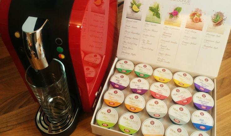 Teekanne TEALOUNGE System mit Kapsel Starterset
