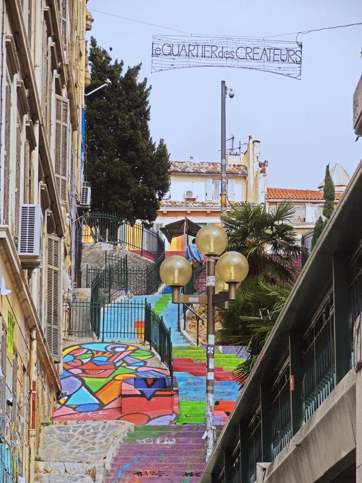www.aprettyidea.com - Visiting Marseille- cours julien - La plaine