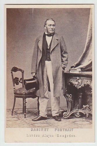 Cabinet Portrait Standportrait Eines Mannes 1870 | eBay