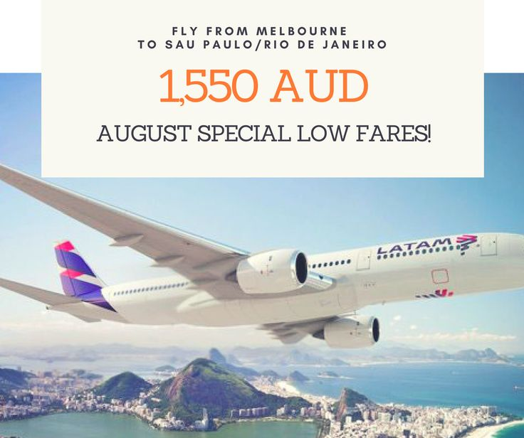 Missing your loved ones......??? Visit your Family this August with our special low fares. From 1550 AUD you can spend quality time home. For more information and available departure Visit our website - www.braziliantravelcentre.com.au This offer is available for flights departing within August 2017. Special fares are subject to seat availability Fares are not applicable for installment plans If you wish to receive all our promotions, please subscribe on our newsletter…