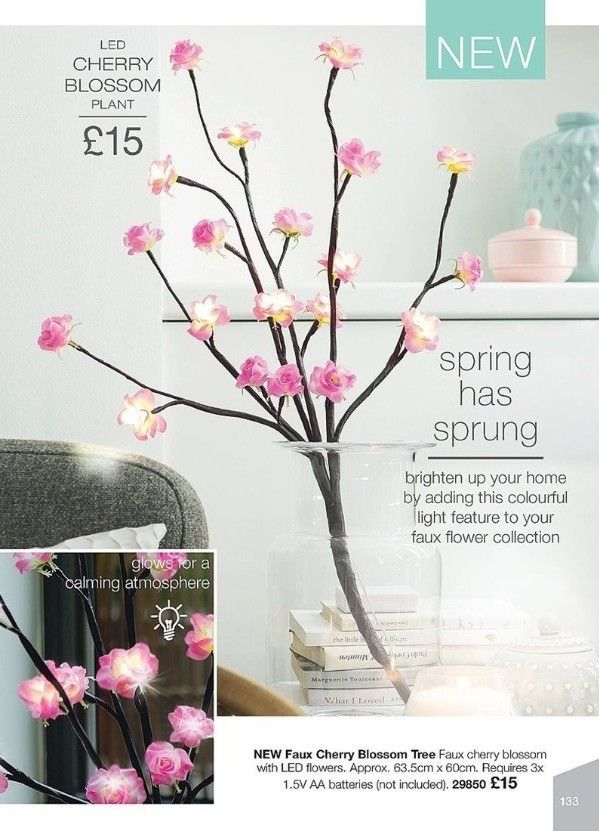 Gorgeous Led Cherry Blossom Http Wu To 4cp0or Bold Lip Color Led Flower Faux Flowers