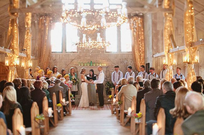 Luv Bridal - What a stunning indoor ceremony #LuvBridal #IndoorCeremony #Weddings #DestinationWeddings