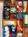 Cute drawer organizers: Organizations Drawers, Organizations Ideas, Drawers Dividers, Offices Drawers, Organizations Sets, Sets Offices, Junk Drawers, Drawers Organizations, Offices Supplies