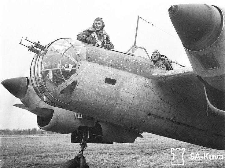 Tupolev SB-2, Finish Air Force, 1944